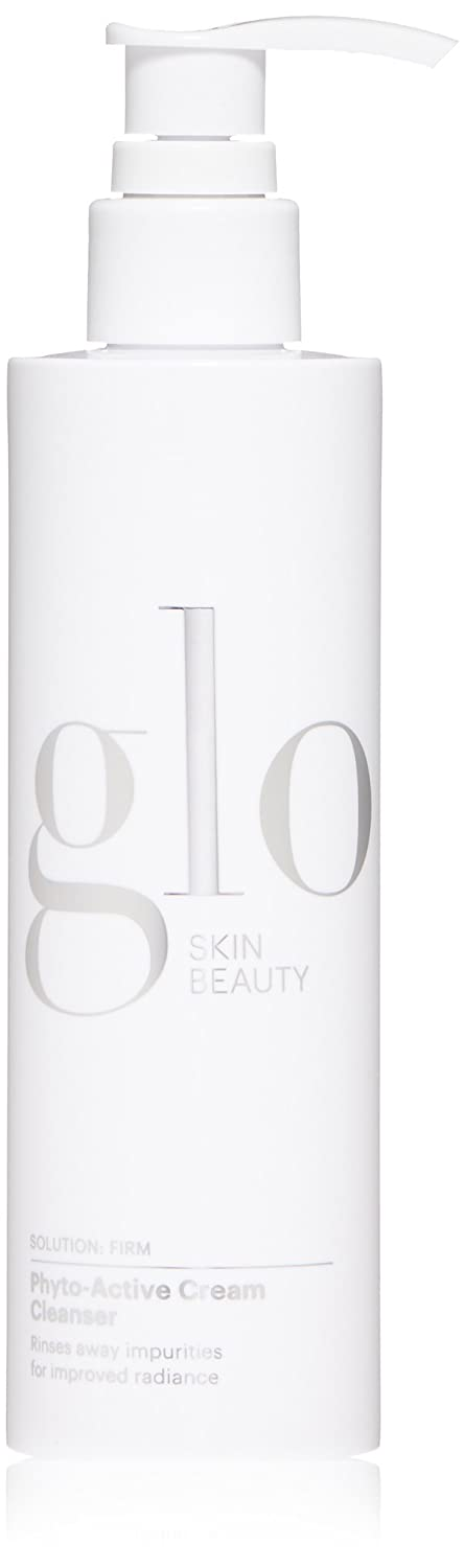 Glo Skin Beauty Phyto-Active Cream Cleanser - Anti-Aging Face Wash with Peptides - Treat Wrinkles and Fine Lines