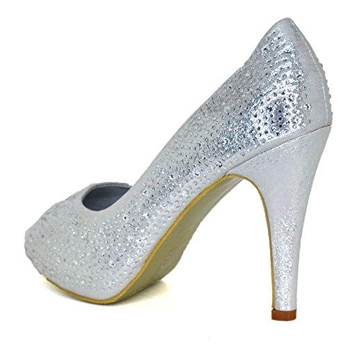 WeHeartShoes Ballerine Silver Ballerine WeHeartShoes Donna Donna HRHqw7