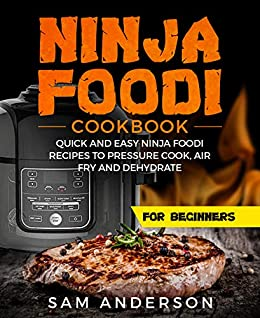 NINJA FOODI COOKBOOK FOR BEGINNERS: QUICK AND EASY NINJA FOODI RECIPES TO PRESSURE COOK, AIR FRY AND DEHYDRATE!