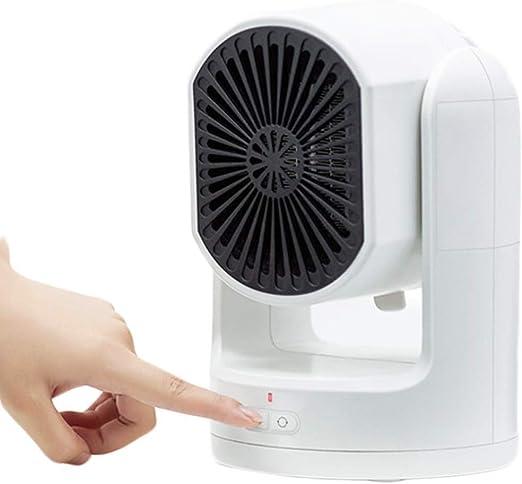 Calefactores Ventilador eléctrico calentador de cerámica 600W ...