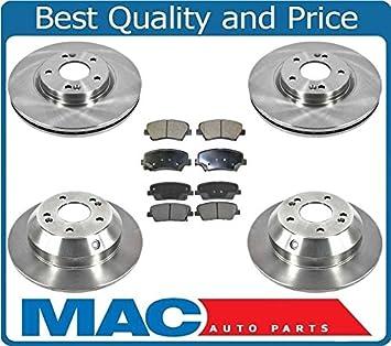 2011 2012 2013 for Kia Sorento Disc Brake Rotors and Ceramic Pads Front