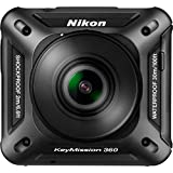 NIKON KEYMISSION 360 4K, HD Action Camera, Black