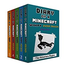 Diary of a Wimpy Ender Dragon Box Set Book 1-Book 5