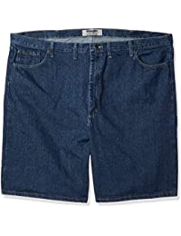 Men's Big and Tall Classic Relaxed Fit Five-Pocket Jean...