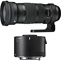 Sigma 120-300mm F2.8 DG OS HSM Telephoto Zoom Lens for Canon (137-101) with Sigma 2.0 X Teleconverter TC-2001 For Canon