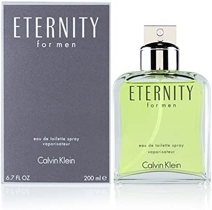 ETERNITY MEN 6.7 OZ EAU DE TOILETTE SPRAY