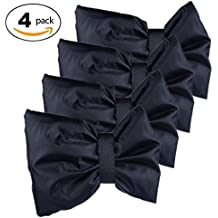 Outdoor Faucet Cover,FULiYEAR Winter Anti-icing Freeze Protection Warm Faucet Socks Set of 4(Black)