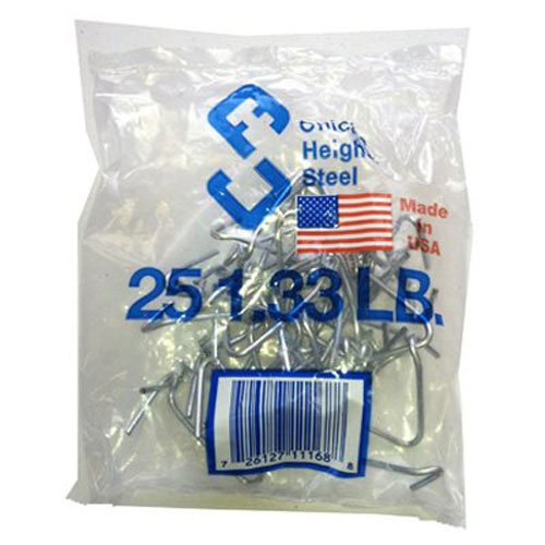 CHICAGO HEIGHTS STEEL M005FAST25RG025 T-Post Style Fence Clip (25 Pack)