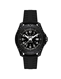 Traser Outdoor Pioneer Watch with Tritium Illumination and Rotating Black Bezel 102905