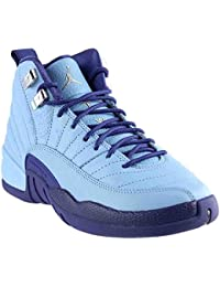 Nike Air Jordan 12 Retro GG Metallic Silver/Purple Basketball Shoe (7)