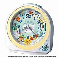 SEIKO Pokemon Alarm Clock (White) CQ417W