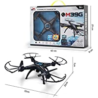 Owill M39GW 2.4G 6-Axis 4CH 0.3M HD Camera WiFi FPV RC Quadcopter Altitude Hold For Stable Flying Taking Photos (Black)