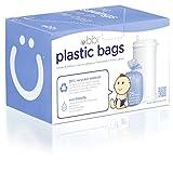 UBBI Plastic Biodegradable Diaper Bags, Purple