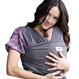 Sleepy Wrap Baby Carrier, Dark Grey Stretchy Ergo