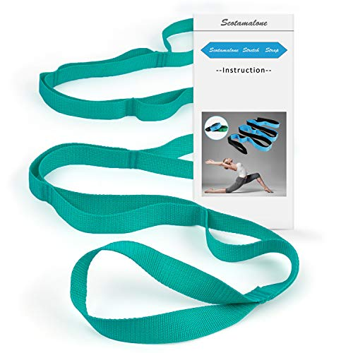 Scotamalone Yoga Strap Multi-Loop