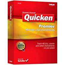 Quicken 2008 Premier [OLD VERSION]