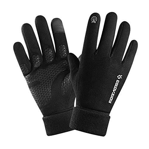 Clacce wasserdichte Touchscreen Handschuhe, Winter Warme Handschuhe Winddichte Outdoor Vollfingerhandschuhe Thermo Kaltwetterhandschuhe für Männer Frauen