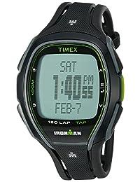 Timex Unisex TW5K96400 Ironman Sleek 150 TapScreen Full-Size Black Resin Strap Watch