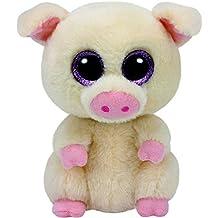 TY Beanie Boo's PIGGLEY Beige Pig 2016 Summer NEW RELEASE