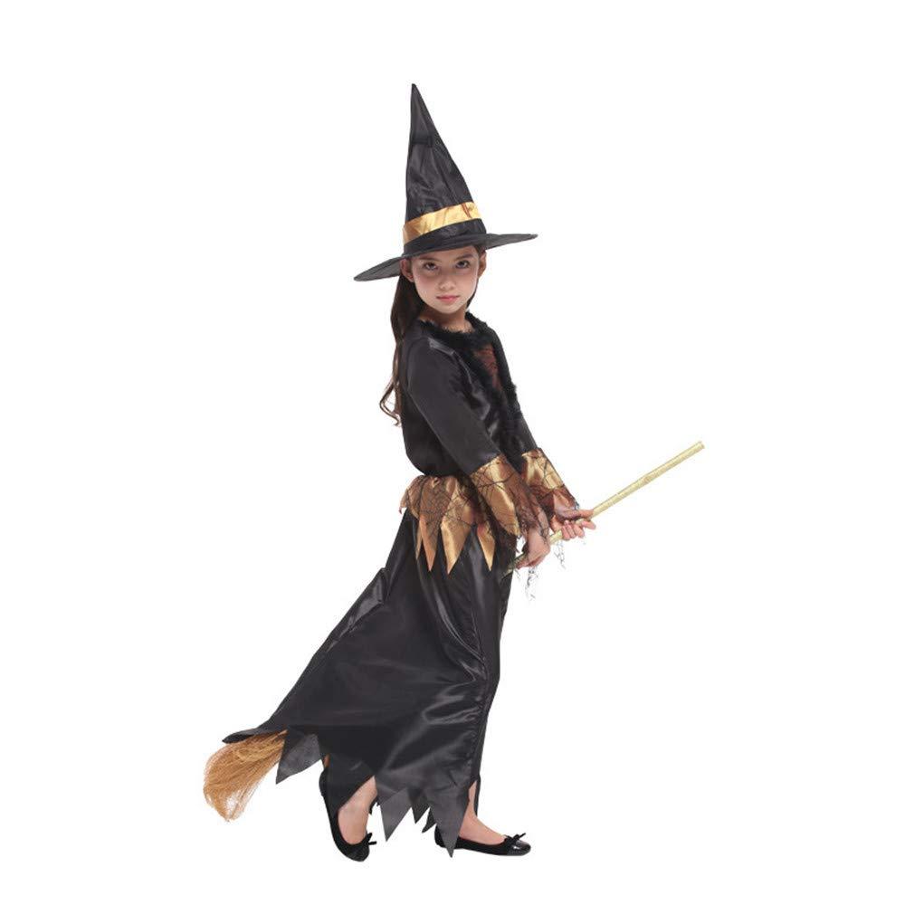 KTYX Halloween Halloween Halloween Kinderkostüm Hexe Halloween Kleider (größe : L) 94a160