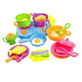 Children Kitchen Playsets Mini Cooking Little Girl Doll House Simulation Toys