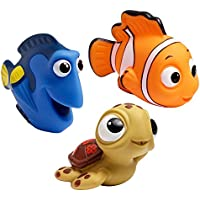 3-Pack The First Years Disney Baby Bath Squirt Toys (Finding Nemo)
