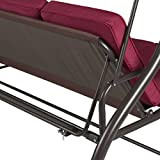 Best Choice Products 3-Seat Outdoor Steel