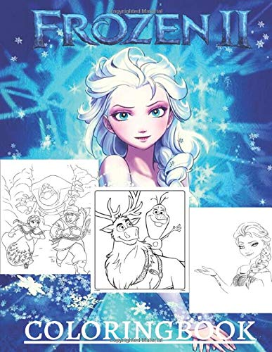 Frozen Ii Coloring Book More Than 50 Coloring Pages Of Disney Frozen Elsa Anna Hans Olaf Etc To Inspire Creativity And Relaxation A Perfect Gift For Children Amazon Co Uk Hammock Melessia Books