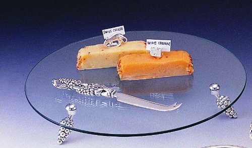 Glass Cheese Tray