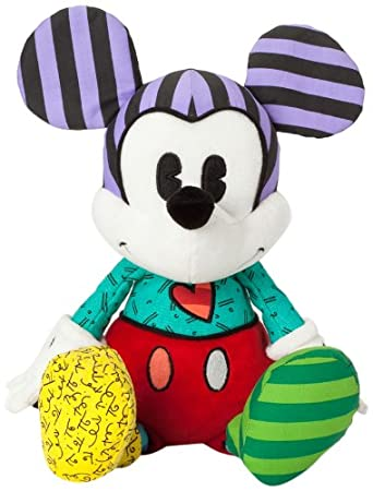 Disney Romero Britto Mickey Mouse Standard Plush