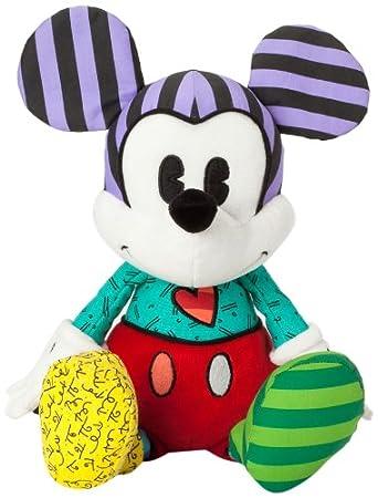 Disney Romero Britto Mickey Mouse Standard Plush