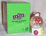 2007 M&M's Red M&M Waterglobe Snow Globe