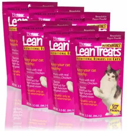 Butler Lean Treats Nutritional Rewards for Cats