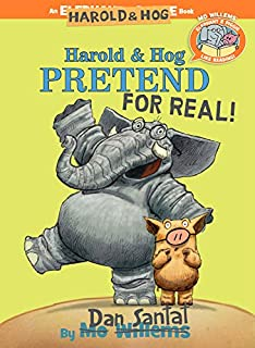 Book Cover: Elephant & Piggie Like Reading! Harold & Hog Pretend For Real!
