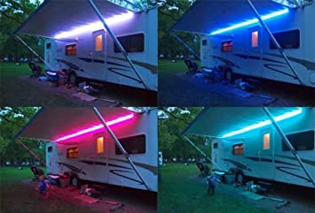 Wohnwagen Beleuchtung | Rgb Farbwechsel Licht Led 12v Dc Wohnwagen Wohnmobil