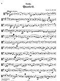 Spohr, Louis : Quartett fur 2 Violinen, Viola, Violoncell, Op. 45, no. 2.