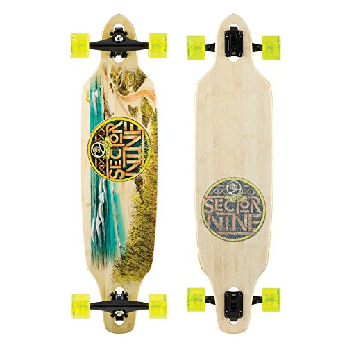 Sector 9 Mini Lookout 2016 Complete Bamboo Longboard New