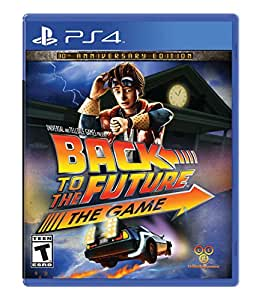 Back To The Future 30th Anniversary Playstation 4