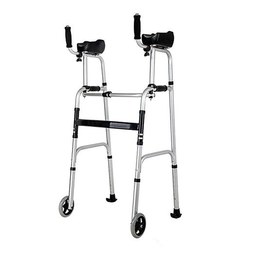 GRAVITY Caminante Anciano con Asiento - Marco Plegable Ajustable ...