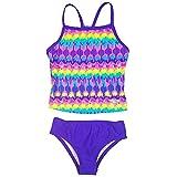 Speedo Girls Racerback 2-Piece Tankini Swimsuit