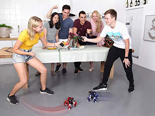 GJS Robot - GEIO App-Enabled Augmented Reality Gaming Robot with High Speed Motion System, Multi-Player Battle Mode and STEM Coding Interface, Red by GJS Robot (Image #8)