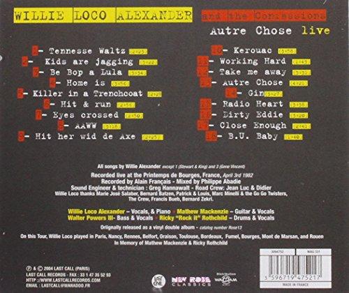 Autre Chose : Live Bourges 1982 by Last Call (Image #1)