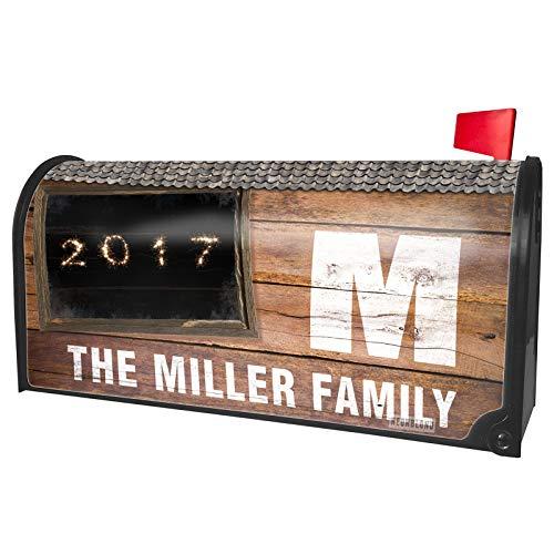 NEONBLOND Custom Mailbox Cover 2017 Fireworks]()
