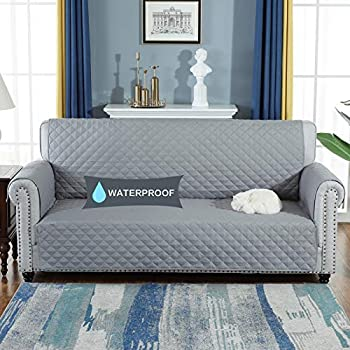 Amazon Com Turquoize 100 Waterproof Dog Couch Cover Quilted Sofa