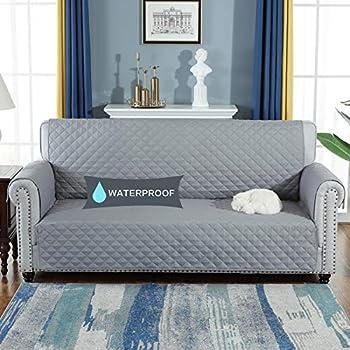 Amazon.com: Penatline Sofa Cover with Rubber Anti-Slip ...