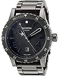 Men's 'Diplomat SS' Swiss Quartz Stainless Steel Watch, Color:Black (Model: A2771885)