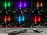 racing ace - 4ft 20 Color 200 Combination LED Whip With Remote and Quick Connect