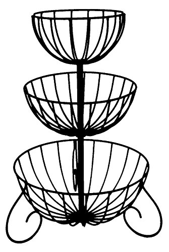 3 Tier Wrought Iron Planter - 14
