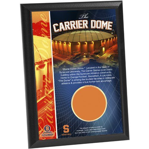 Ncaa Syracuse Carrier Dome Court Capsule 4X6 Plaque