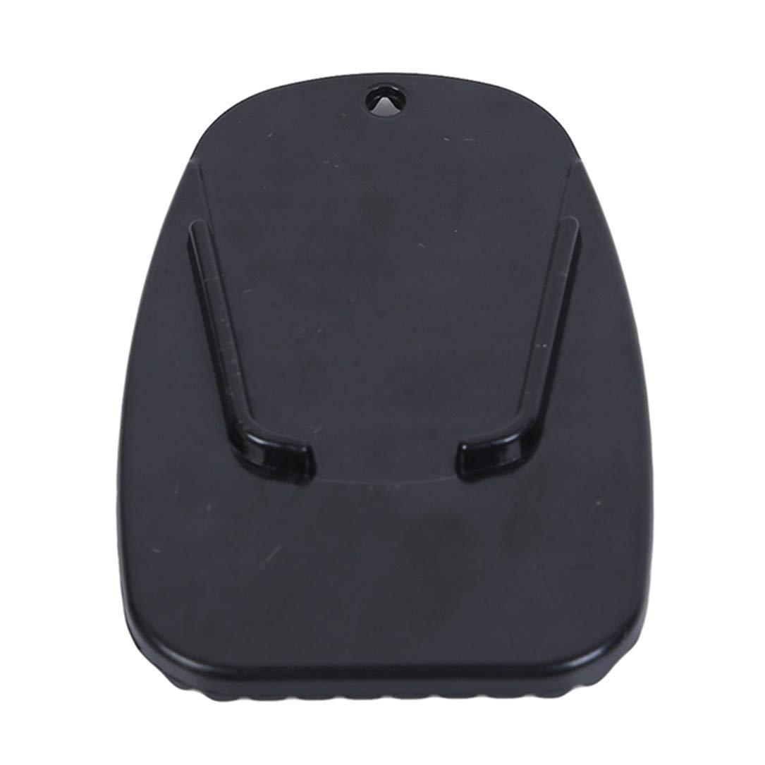 Lehao Motorcycle Bracket Plate Motor Bike Side Kickstand Non-Slip Plate Base Parking Stand Support Plastic Pad